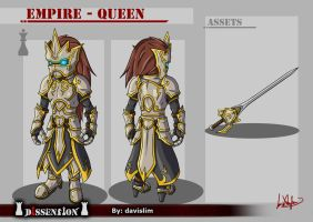 Dissension - Empire Queen Concept by davislim