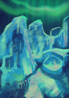 FrostGiant - 50 minutes Speedpainting by Mantina