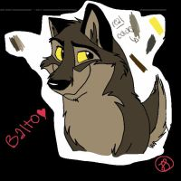 First Balto Drawing by Cherry-Cz