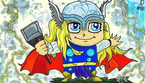 The Mighty Thor! by SirDNA109