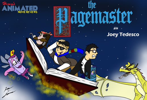 HAMR The Pagemaster Title Card by HewyToonmore