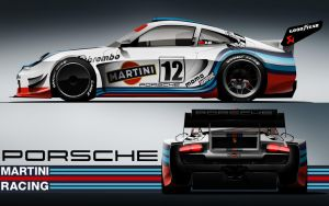martini racing porsche by KarayaOne