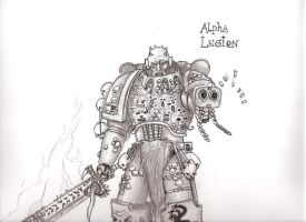Alpha Legionnaire by Stefess