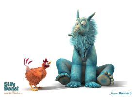 BEAST AND CHICKEN 02 by aniBoom-Skylar