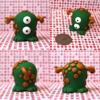 Quigley the Timid Monster by TimidMonsters