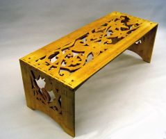 Continuous Vine Table by mjbuben