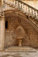Water fountain - Dubrovnik by wildplaces