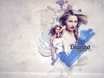 Dianna Agron Collage by StarlightSophie