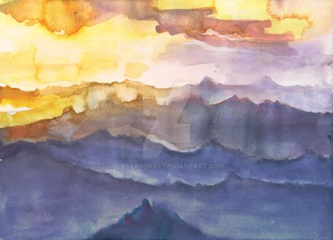 Blue Mountains by cassandra4