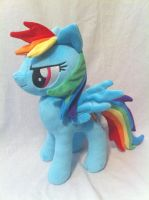 Naughty Rainbow Dash by PlanetPlush
