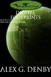 Digital Footprints book cover by Alkonium