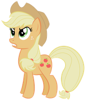 Applejack Trace 1 by shadowdark3