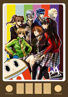Persona 4 by Eclipsing