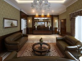 Living Room, Graha, Medan Indonesia by CallsterShade