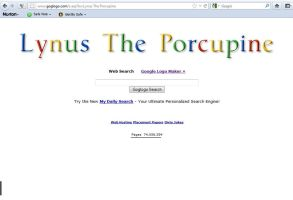 Google Logo - Lynus the Porcupine by Lynus-the-Porcupine