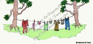Clothing Hanging Out To Dry by Katrina1944