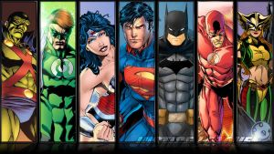 Justice League Compilation Wallpaper by Etherial007