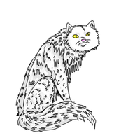 White Cat for GallowsCalibrator by pearlevil