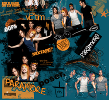 Paramore Layout by full-of-lies