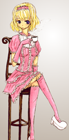 Pink, Frills, and Tea. by EpicNeutral