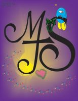 initials mjs by electricjesuscorpse