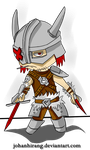 The Dragonborn Chibi version by johanhirang