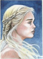 Daenerys colored by Csyeung