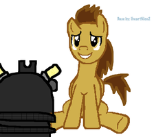 Doctor Whooves an d Dalek Sec by FireFly1800