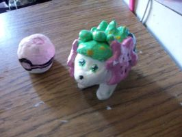 Shaymin statue by DaMee-Momma