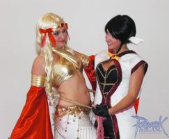 Ragnarok Gypsy and Monk by Aotenshi