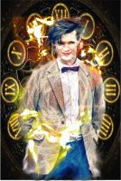 Eleventh Doctor by NightsDeepBreath