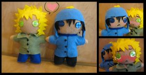 creek plushies by MissDeadEnd