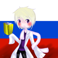Chibi Russia-Dr Kolkol Icon by cosmicguts