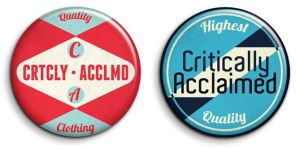 Critically Acclaimed Badge '11 by RyanDevineOfficial