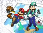 Mario Bros. Wallpaper by Imson
