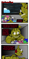 Springaling 183: IT'S ME, Springtrap by Negaduck9