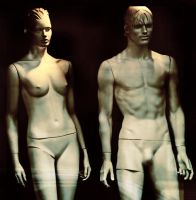 Adam and Eve by edips