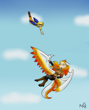 Free Falling by Moonlit-Mage64