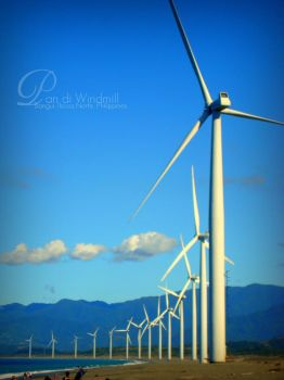 Bangui Windmills by LeightonLee