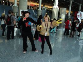 AX 2011 Rocket Vs Dodrio by The-Clockwork-Crow