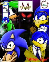 Other-M: Issue 12 Cover by anotherblazehedgehog