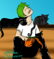 Zoro's Sleeping Companions by Purrgir