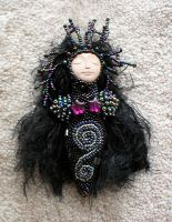 Amonett - The Dark Huntress by jardan