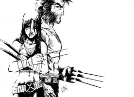 wolverine - x23 by channandeller