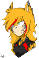 Animatronic Maria Icon by Darkdeathqueen