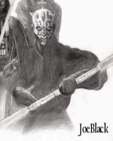 Darth Maul, Vader and Sidious by JoesHouseOfArt