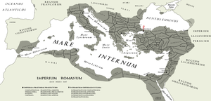 The [Eastern] Roman [Byzantine] Empire A.D. DLXV by Kuusinen