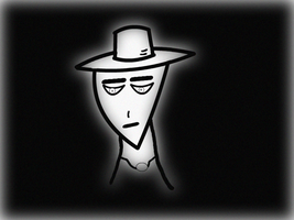 Sad man in the hat by XDmoney