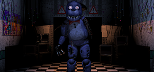 FNAF 2 : Bonnie has his face back ? by AutobotRatchet22