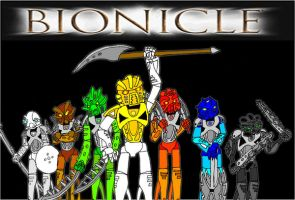 Bionicle, Toa Nuva by Oakheart12